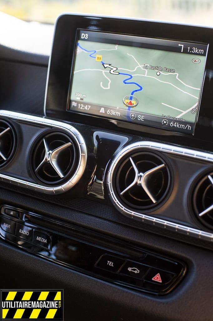 LA Classe X est bien une Mercedes