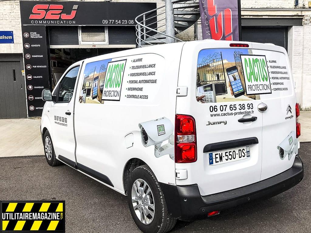 Marquage publicitaire sur votre véhicule utilitaire , Equipement