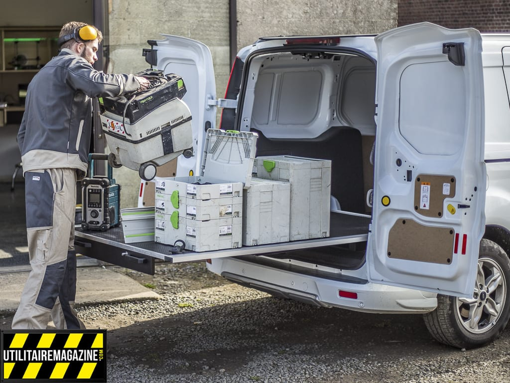 Rolide, le plancher coulissant pour véhicule utilitaire ou votre pick up