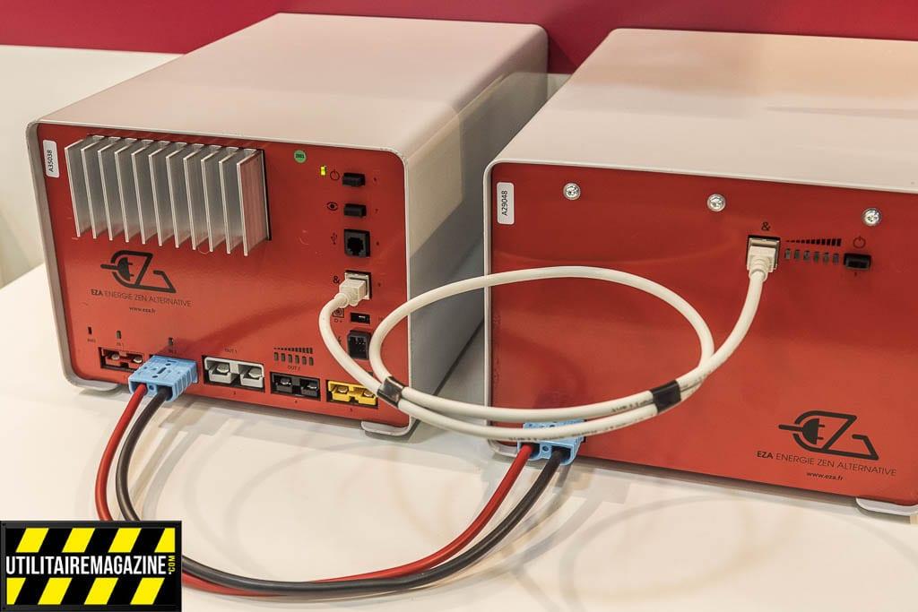 Batterie EZA V2 embarquée pour véhicule utilitaire