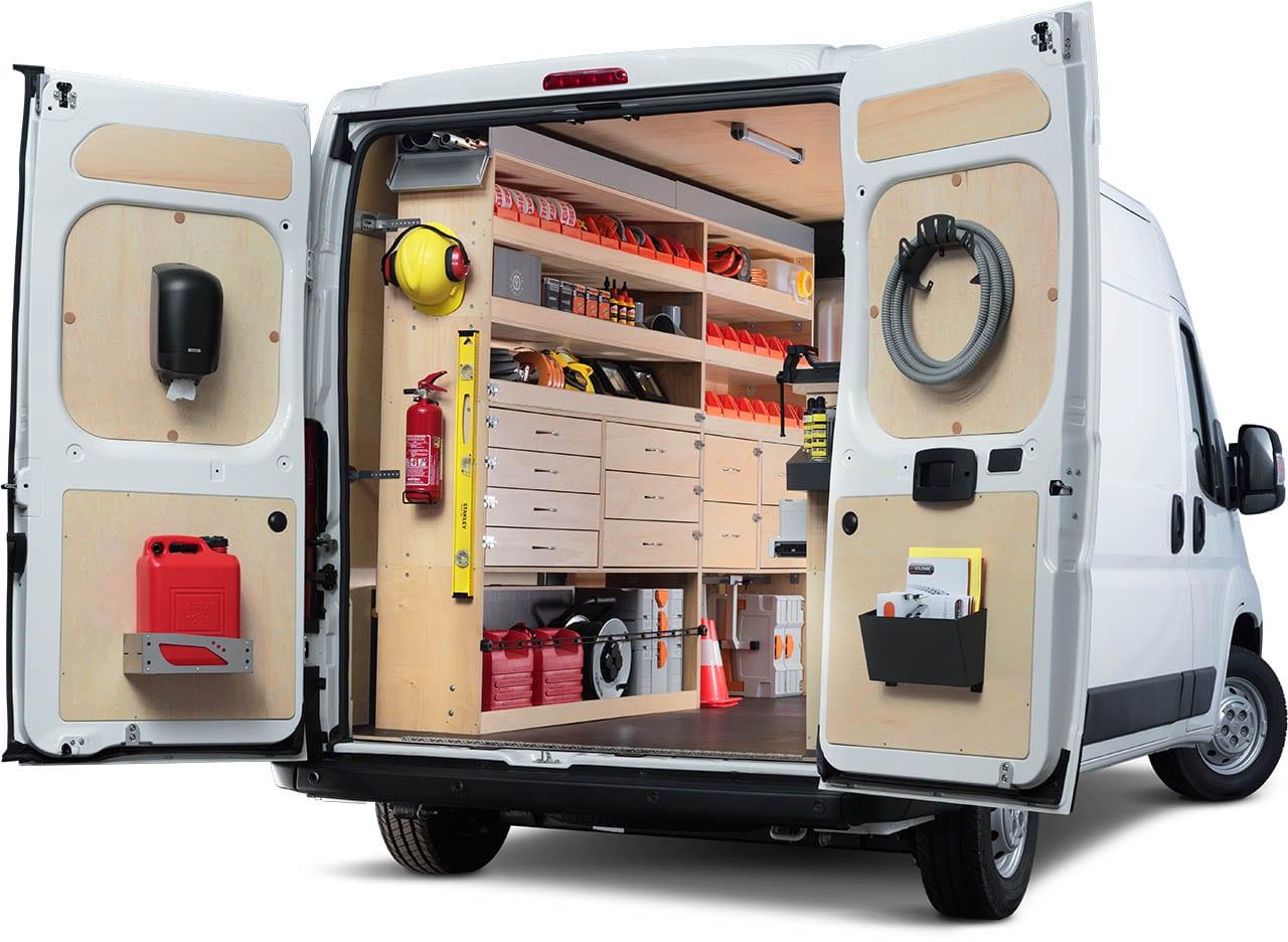Aménagement utilitaire : solutions bois Optipro Kit Utilitaire
