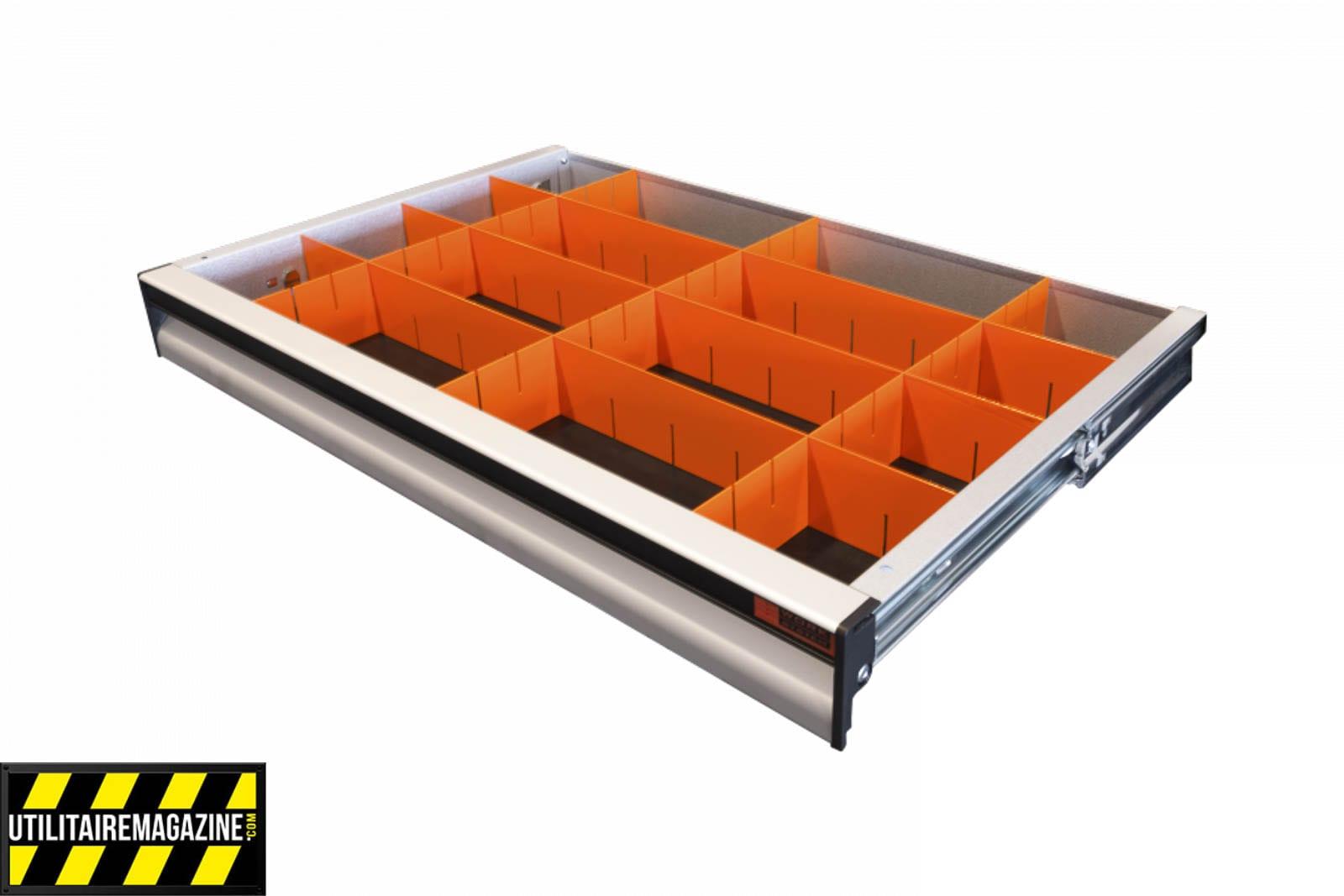 séparations pour blocs tiroirs