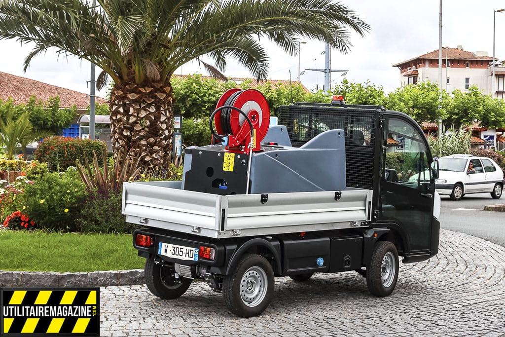 Goupil G4 un mini utilitaire électrique homologué route