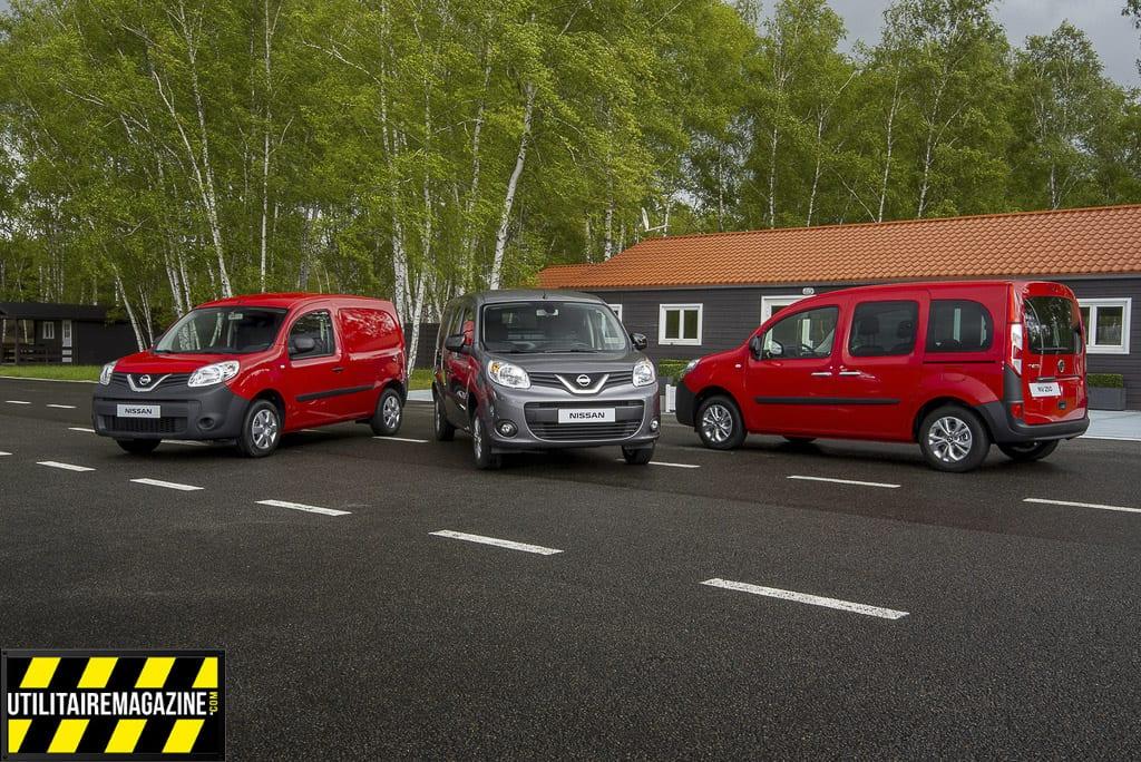 La gamme des utilitaires Nissan NV250 2019
