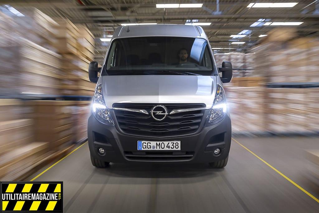 Opel Movano 2019 un petit restylage sur la face avant