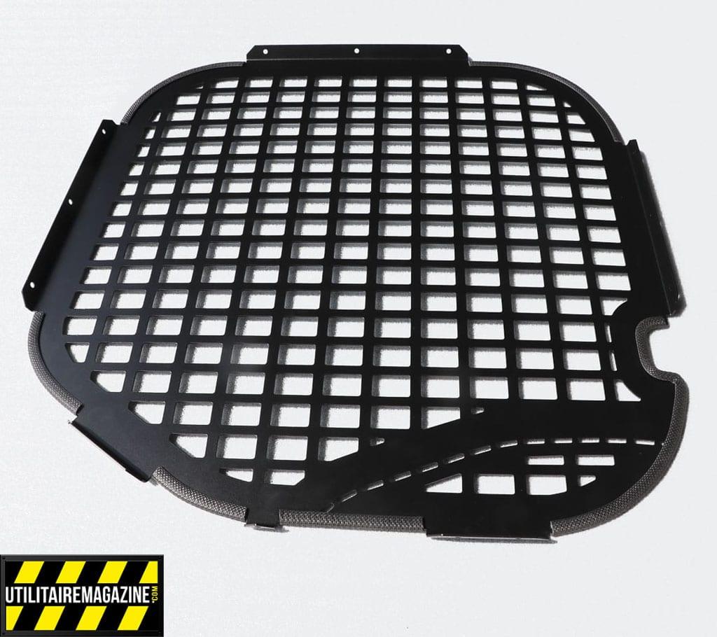 Grille antivol - anti-effraction pour utilitaire. Elles se fixent à l'intrieur du véhicule, dissuadent et limitent les risques.