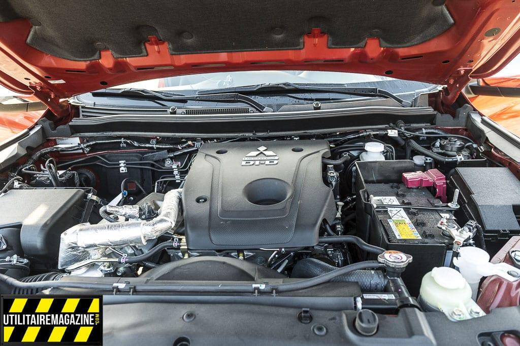 Le nouveau Mitsubishi L200 2020 est propulsé par un 4 cylindres 2.2 l de 150 ch