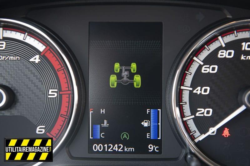 L'affichage des modes de transmission est clair.