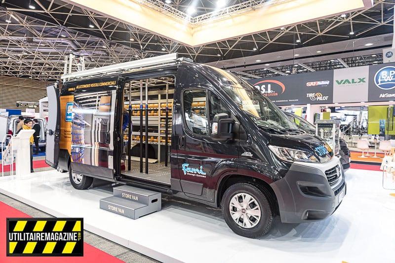 Fiat Ducato atelier mobile par Store Van