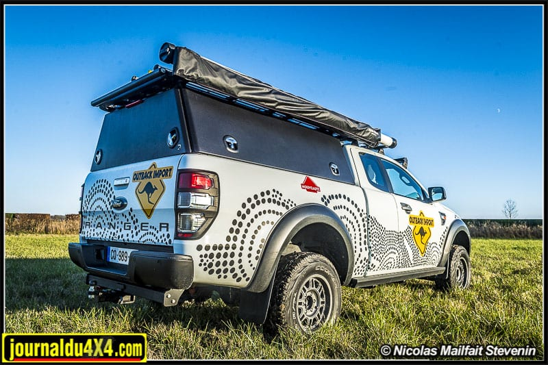 Hard top Rockalu en aluminium pour Ford Ranger