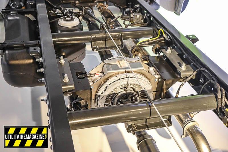 Les gros avantages du frein à induction Telma sont qu'il est sans entretien, sans friction et apporte un freinage supplémentaire. C'est idéal pour les pros avec de gros véhicules utilitaires qui travaillent dans les régions montagneuses.