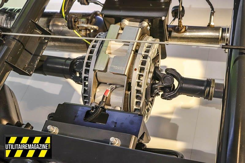 Ralentisseur électromagnétique ou frein à induction Telma pour véhicule utilitaire