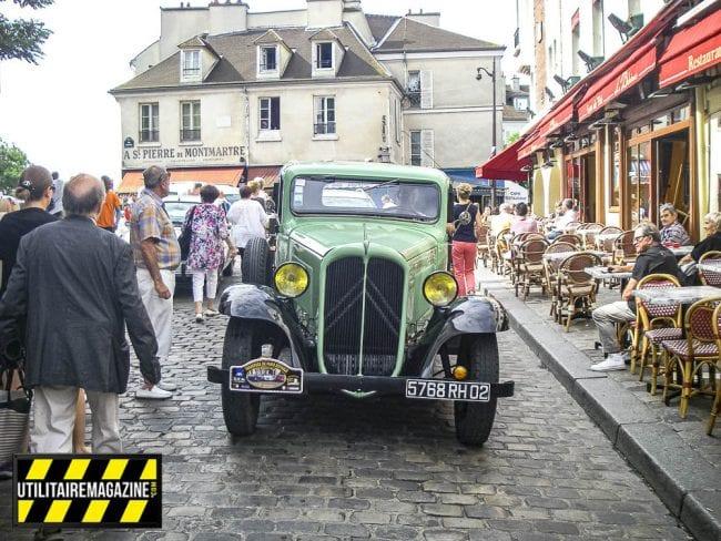 La Citroën Rosalie dans les rues de la capitale pour la Traversée d Paris
