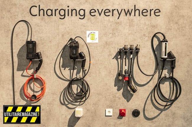 Quelques exemples de câbles de recharges pour l'Opel Vivaro-e