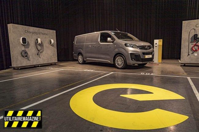 Présentation de l'Opel Vivaro-e, le premier utilitaire électrique de la marque