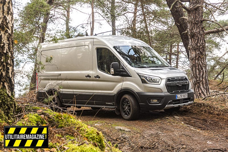 Essai Ford Transit Trail All Wheel Drive 4×4 2 tonnes